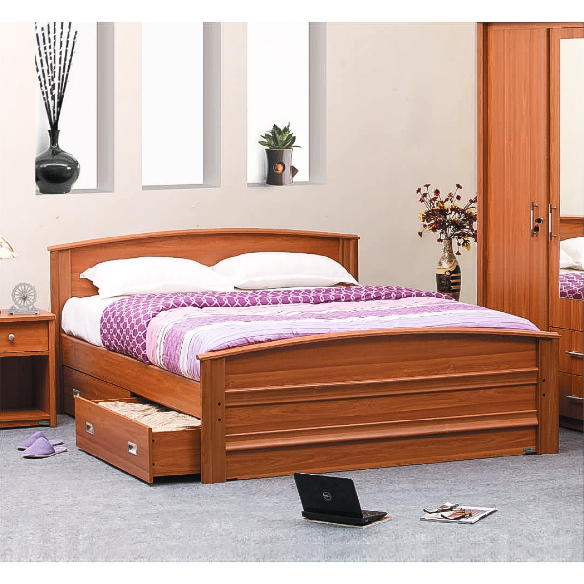 Monarch 2 Piece Bedroom Set Damro